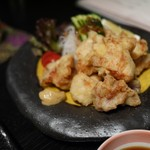 日本料理 折鶴 - 鶏天、東京ではココ10年位で見かけるようになったかなー