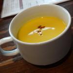 カフェ ガーブ - ランチのスープ