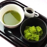アルフィ - 宇治抹茶わらび餅