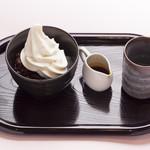 アルフィ - 生乳ソフトクリームみつ豆