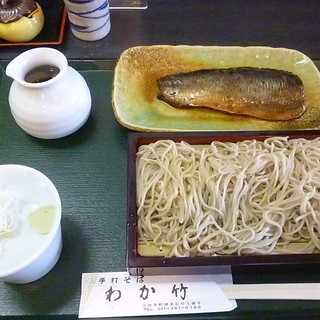 手打ちそば わか竹 - 料理写真:にしんせいろ 2016.7月