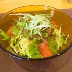 SANTA CAFE - パスタAセット(¥1,830) サラダ