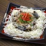 藁焼き鰹たたき 明神丸 - ソースたたき丼