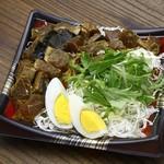 藁焼き鰹たたき 明神丸 - スパイシーカレーたたき丼