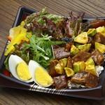 藁焼き鰹たたき 明神丸 - ロコモコ鰹たたき丼