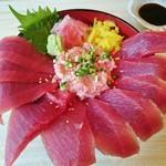 uohei - まぐろ二色丼 950円