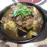 雅山GARDEN - 黒毛和牛の鉄板焼き バンバンジーソース