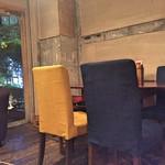 カフェ・グリル・バー 太陽 - テーブル席