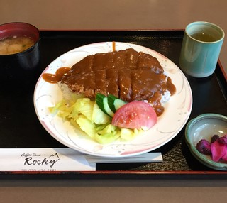 Coffee House Rocky - ビーフカツメシ