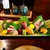 地の酒 しん - 料理写真:黒鯛、鯵、桜鱒、雲丹、イサキ、鰹