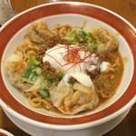 53133106 - 「雲呑入り汁なし担々麺」と「魯肉飯」のランチセット 1026円