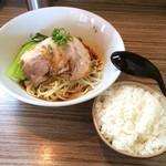 麺や輝の穴 - 汁なし坦々麺
