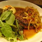 カナロア テーブル - 県産牛のハンバーグ