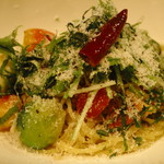 カナロア テーブル - シラスと芽キャベツのペペロンチーノ:ハーフ