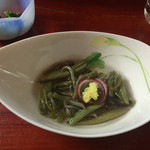 炉ばたたむら - 料理写真:じゅんさい500円