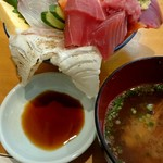 栄寿司 - 『おまかせ丼』¥1700-