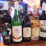 M.C CAFE - ルーマニアワインも飲めます。