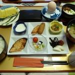 旅籠しび荘 - 朝食