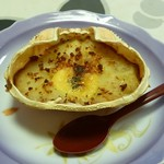 旅籠しび荘 - 夕食⑦(蟹グラタン)