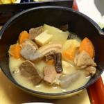 旅籠しび荘 - 夕食⑥(猪鍋)