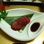 旅籠しび荘 - 夕食⑤(鹿刺)