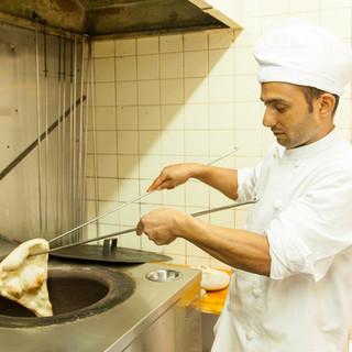 熟練シェフが作る本格インド料理♪