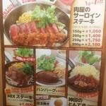 Kandanonikubarurampukyappu - ランチメニュー各種