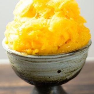 宮崎熟赤の雫完熟マンゴー氷
