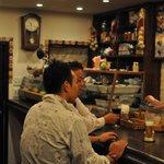 ワイン居酒屋 MERCATO - jaffaさんとセ・モアのオーナー