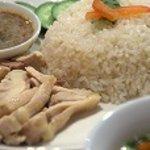 チャオプラヤ - カオマンガイ 特製鶏がらの炊き込みご飯と蒸し鶏