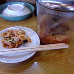 熱烈一番亭 - 食べ放題サービスの白菜キムチ