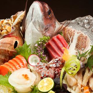 【豊富な海鮮メニュー】産地へのこだわり