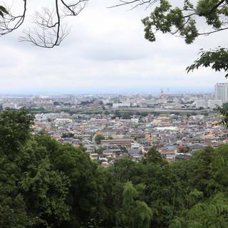 高崎市内を一望できるロケーション