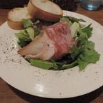 Italian bar 2538 - ランチのサラダとパン
