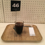 J.S. BURGERS CAFE - アイスコーヒー