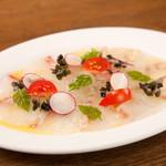 肉専門 大衆酒場 トロット - 日替わり鮮魚のカルパッチョ