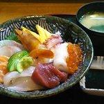 みき寿司 - 海鮮丼@1,360