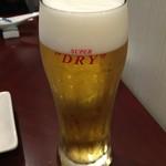 53146567 - まずはビールで乾杯〜♪