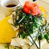 カーサ クッチーナ - 料理写真:豆腐と湯葉の和風オムレツ