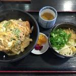53150811 - 2016.7.5  カツ丼と丼セット 冷うどん