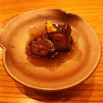 やまさん - 真蛸の柔らか煮 蛸と和辛子がよく合います