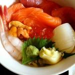 53155545 - 「海鮮丼」¥1200。