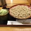 十割そば 乃庵 - 料理写真:「石臼そば」850円