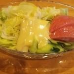 レストラン 三味 - 野菜サラダ。