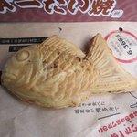 日本一たい焼き - 日本一たい焼の釜は「天然モノ」用の釜、「箸もの」という 焼きごてのような釜で焼き上げてあります