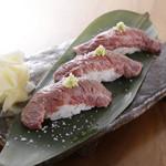 沖縄酒場 ごっぱち - もとぶ牛あぶり寿司