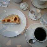 リンタロウ カフェ - クリームチーズケーキのセット
