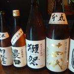 越中鮮魚居酒屋 かざくら - 県外のレア酒もございます