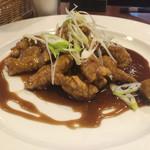 四川料理 蜀彩 - 黒酢の酢豚