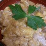 鶏三和 - 名古屋コーチンの親子丼